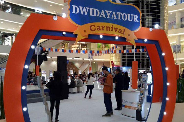 Pameran Dwidayatour Carnival 2017 digelar 15-17 September 2017 di Main Atrium Senayan City Mall, Jakarta.
