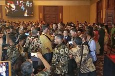 Kibaran Merah Putih saat Prabowo Hadiri Gala Dinner Para Pengusaha Tionghoa