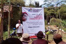 Relawan Jokowi Membangun Jembatan di Sukabumi