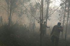 20 Hektar Lahan di Kubu Raya Terbakar,  Api Mendekat ke Permukiman