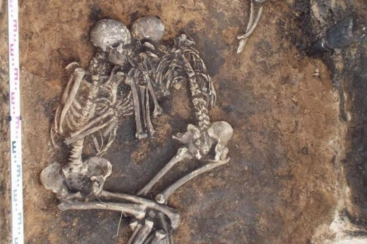 Gigi dari kerangka berusia 3.800 tahun ini mengandung bakteri pembawa penyakit pes.