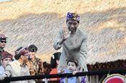 FOTO: Menggemaskan, Jan Ethes Curi Perhatian di Pesta Kesenian Bali