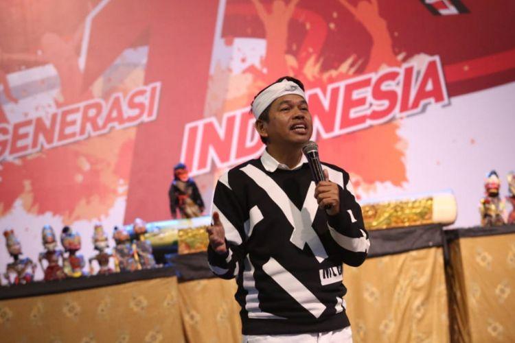 Ketua Tim Kampanye Daerah (TKD) Jokowi-Ma'ruf Amin Jawa Barat Dedi Mulyadi.