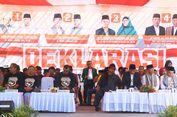 Deklarsi Pilkada Damai, KPU NTB Ajak Paslon Perangi Hoaks