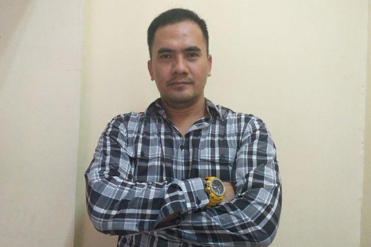 Saipul Jamil ditemui pada akhir acara perayaan 17 Agustus di Lapas Klas 1A Cipinang, Jakarta Timur, Jumat (17/8/2018) sore.