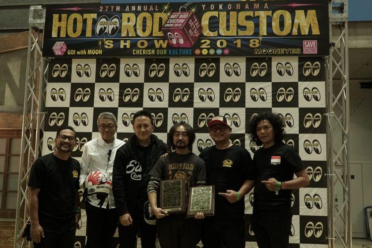 Dua karya rombongan Kustomfest Indonesia Attack 2018 raih penghargaan di Yokohama.