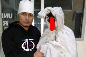 Polisi Tangkap Pocong Jadi-jadian yang Resahkan Warga