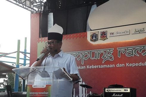 Buka Kampung Ramadhan, Wali Kota Jakarta Barat Sampaikan Pesan Gubernur DKI