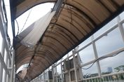 Kata Pejalan Kaki soal JPO Dukuh Atas yang Atapnya Bolong-bolong