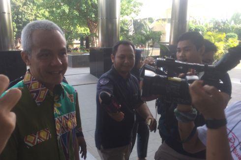 Sehari Setelah Pilkada, Ganjar Pranowo Penuhi Panggilan KPK