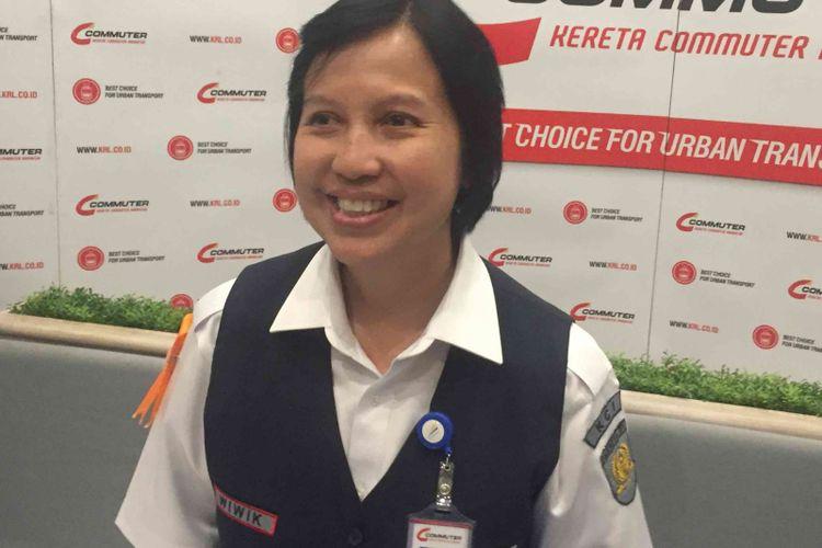Direktur Utama PT KCI Wiwik Widayanti