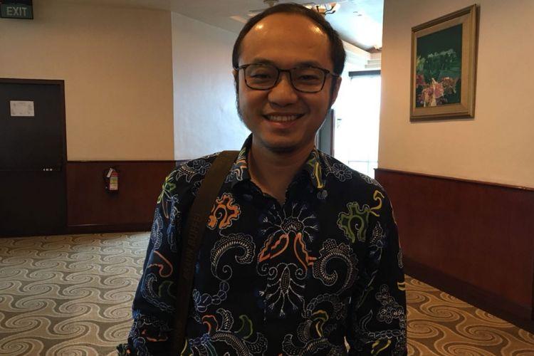 Direktur Eksekutif Charta Politika Indonesia Yunarto Wijaya