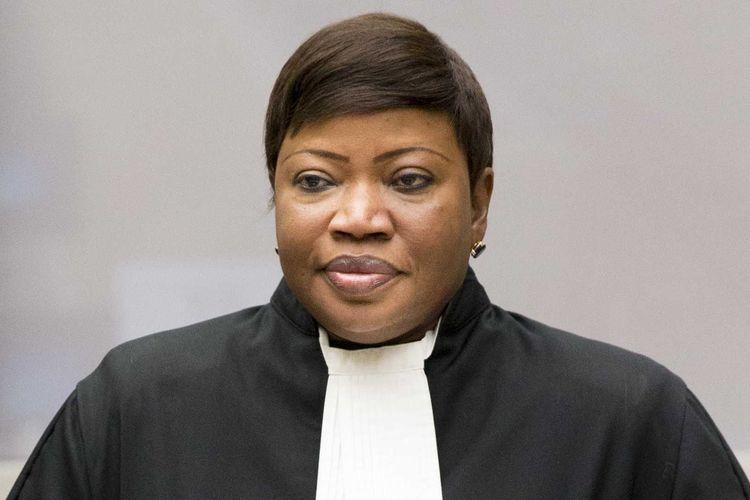 Fatou Bensouda, Ketua Jaksa Penuntut Mahkamah Kriminal Internasional (ICC).