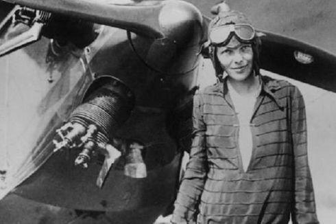 11 Januari 1935, Amelia Earhart Terbang Solo dari Hawaii ke California