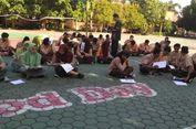 Viral Foto Puluhan Siswa SMA UAS di Lapangan Sekolah, Ini Sebabnya