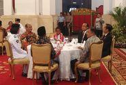 Yohanes si Pemanjat Tiang Bendera Bertemu Presiden Jokowi di Istana