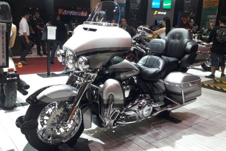 Harley Davidson CVO Limited yang dipamerkan pada gelaran GIIAS 2018.
