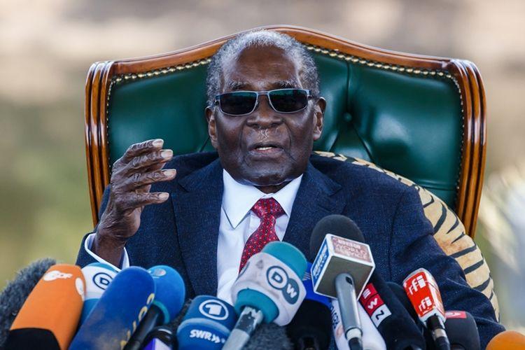 Mantan presiden Zimbabwe, Robert Mugabe.