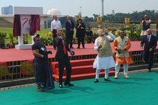 Presiden Jokowi dan PM India Main Layangan di Monas