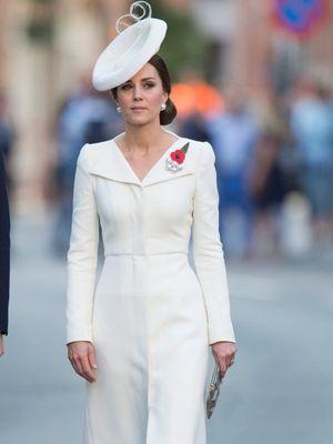 Kate Middleton dalam sebuah acara di Belgia.