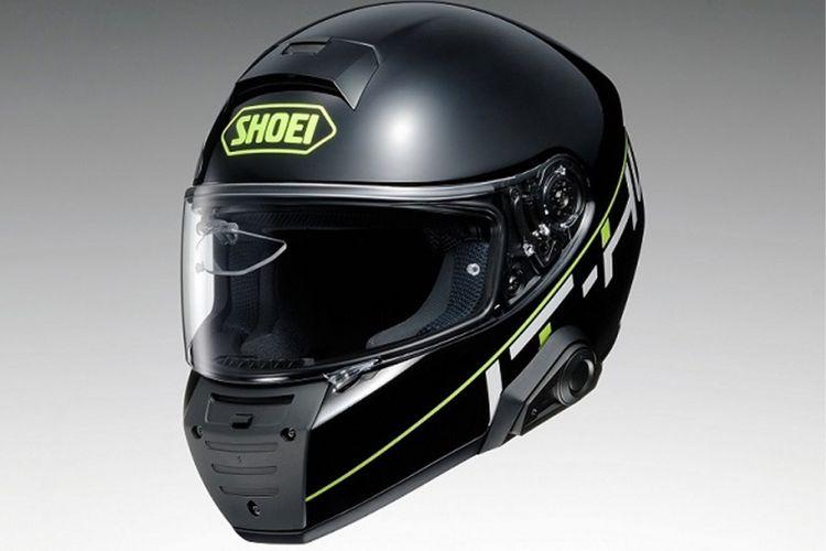 Prototipe helm Shoei dengan fitur Head up display