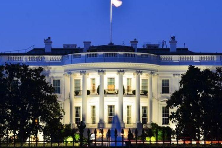 Ilustrasi Gedung Putih.