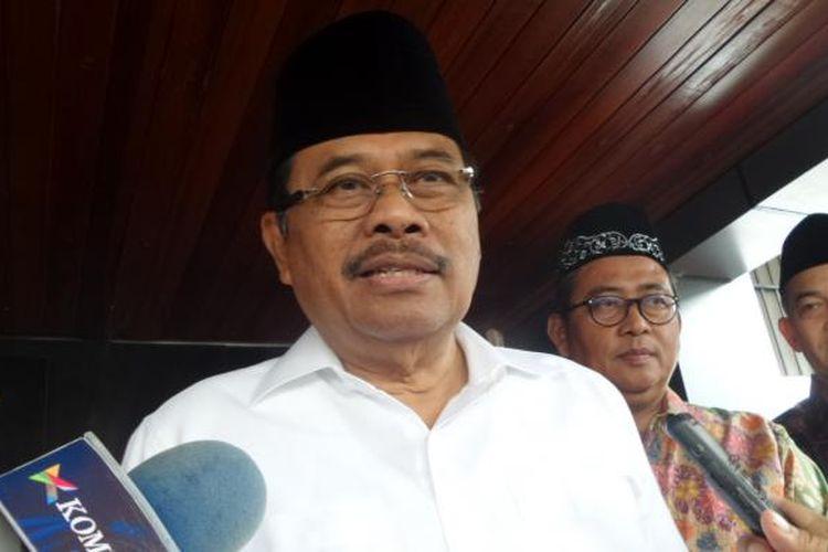 Jaksa Agung Muhammad Prasetyo di kompleks Kejaksaan Agung, Jakarta, Jumat (3/2/2017).