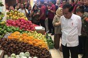 Blusukan di Pasar Modern Bintaro, Jokowi Beli Beras dan Buah