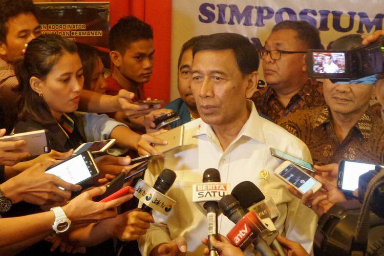 Wiranto Sebut Kelompok Saracen Sebagai Ancaman Nasional Non Militer
