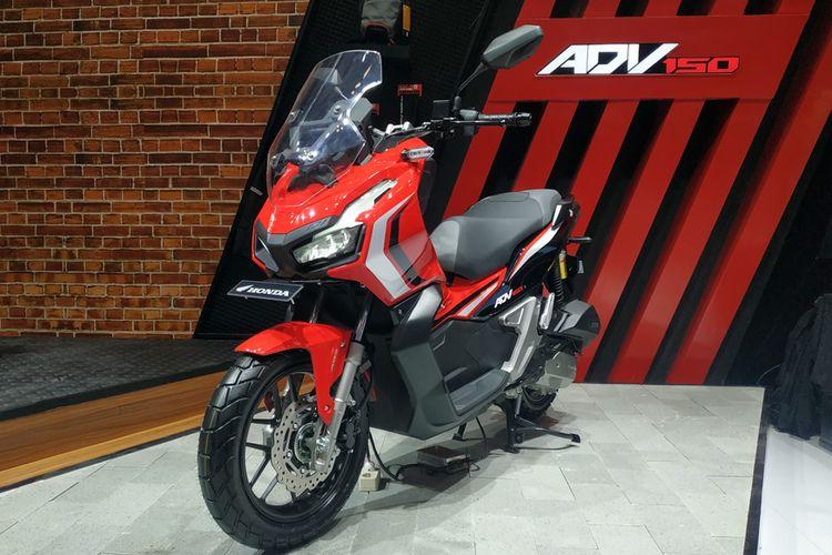 Skutik baru Honda ADV150 akhirnya meluncur di GIIAS 2019.