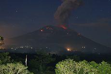 Erupsi Lagi, Gunung Agung Semburkan Abu Setinggi 1 Km