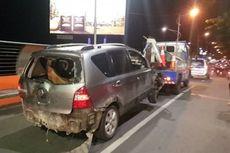 Grand Livina Tabrak Belasan Motor, Sopir Mendadak Hilang dari Rumah Sakit