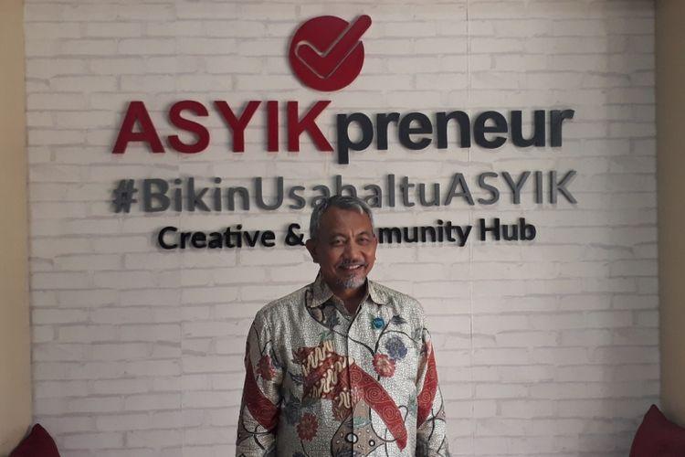 Kader Partai Keadilan Sejahtera (PKS) Ahmad Syaikhu saat ditemui di Kantor Asyikpreneur, Kota Bekasi, Selasa (6/11/2018).