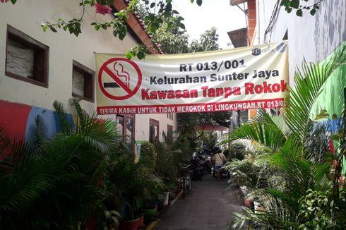 Menekan Jumlah Perokok Lewat Kampung Bebas Asap Rokok di Sunter