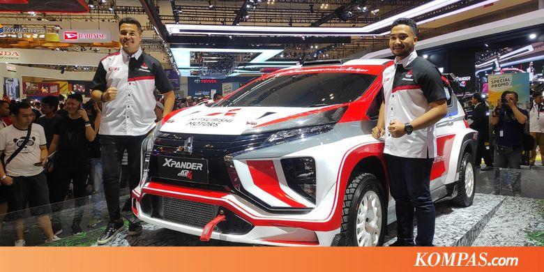 Mitsubishi Pilih Xpander Beraksi di Reli Internasional