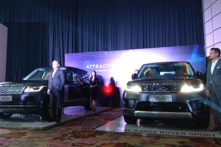 New Range Rover dan Range Rover Sport meluncur di Indonesia