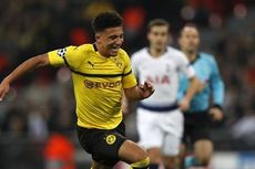 Dortmund Vs Schalke 04, Jadon Sancho Terkena Lemparan Korek Api