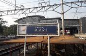Semrawutnya Stasiun Duri saat Jam Kerja di Pagi Hari...