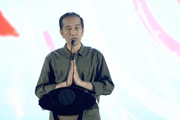 Presiden Joko Widodo (foto: panitia)