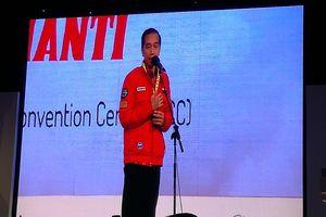 Kelakar Jokowi soal Penampilan 'Elek Yo Band' yang Bikin Perut Mulas