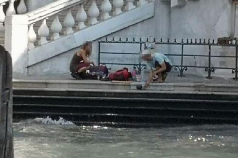 Ketahuan Bikin Kopi di Tepi Jembatan Venesia, 2 Turis Jerman Didenda Rp 14 Juta