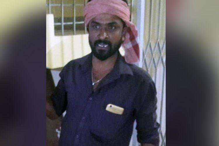 Satish, pria asal India yang mengaku membunuh serta memenggal istrinya karena selingkuh. Dia ditahan setelah menyerahkan diri ke kantor polisi.