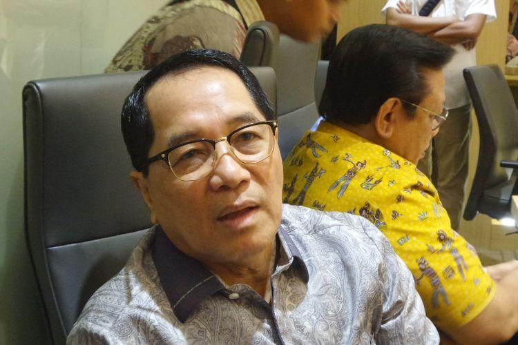 Sekretaris Dewan Pakar Partai Golkar Firman Soebagyo di Kantor DPP Partai Golkar, Slipi, Jakarta Barat, Selasa (14/3/3017).