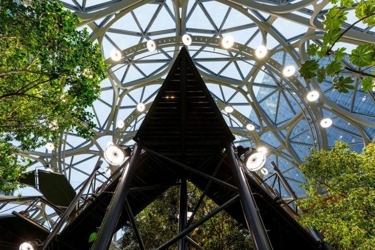 The Spheres kantor baru Amazon.