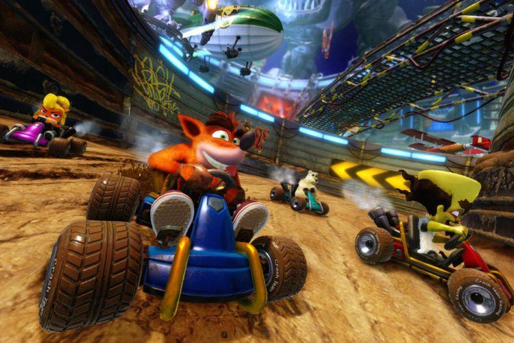 Crash Team Racing: Nitro-Feuled akan dirilis Juni 2019 mendatang