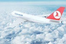Penumpang Turkish Airlines Amankan Seorang Pria yang Mengamuk