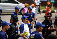 Perasaan Indra Bekti Saat Bawa Obor Asian Games