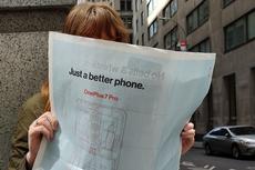 Fitur-fitur Andalan OnePlus 7 Pro Dipamerkan Lewat Iklan di Koran