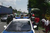 Rem Blong, Truk Kontainer Tabrak Tiga Sepeda Motor