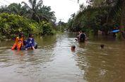 Korban Banjir di Kampar Riau Mengeluh Tak Dapat Bantuan